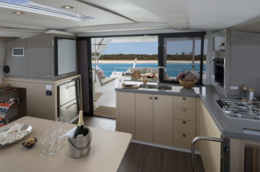 Fountaine Pajot Lucia 40 Charter Galley